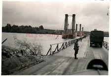 Foto, Wk2, N.E.A.4, zerstörte Brücke, Bonny-sur-Loire Frankreich, 1940 (G)21081