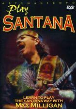 Play Santana [New DVD] Full Frame, Dolby