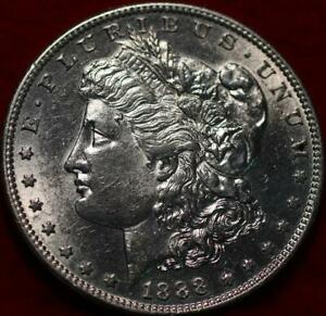 Uncirculated 1888-S San Francisco Mint Silver Morgan Dollar