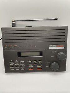 uniden bearcat scanner, 855 XLT, 50 channel, police, fire, radio