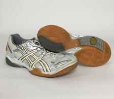 ASICS GEL Domain Women's White Court Volleyball Athletic Shoes Size 11.5