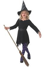 Rubie's Costume Da Strega Nera da Bambina Halloween 610251