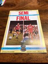 SOUTHAMPTON V LIVERPOOL 1986 FA CUP SEMI FINAL PROGRAMME MINT LOOK FREE POST