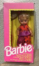 1992 Barbie Li'l Friends blonde doll NRFB Heart Family Foreign Kelly