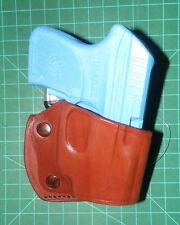 Tagua YSH-007 RH Leather Yaqui Slide Holster Keltec 380 Ruger LCP WITH CTC LASER