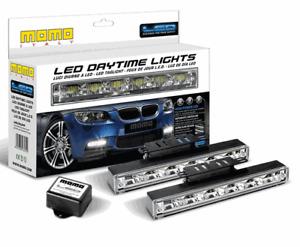 MOMO 6-High Powered LED DAYTIME RUNNING LIGHTS (5000K) - P/N: LAMLEDRL6FHP