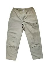 Patagonia Men's Flyfishing/Hiking Beige Pants with Stretch Size Large