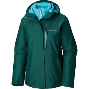 "New Womens Columbia ""Whirlibird III"" 3 in1 Omni-Heat Winter Jacket Coat Parka"
