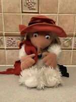 Vintage Retro Womble of Wimbledon ORINOCO Backpack Soft Toy Bag Bluebird 1998