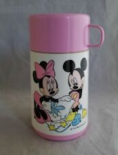 Disney Aladdin Mickey & Minnie Mouse Thermos Only Art Valentine Pink