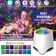 LED Sternenhimmel Projektor Musik Galaxy Starry Bluetooth Nachtlicht Weihnachten