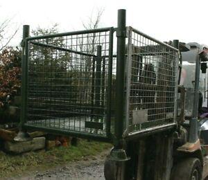 Heavy duty stillage cage pallet warehouse storage metal quality