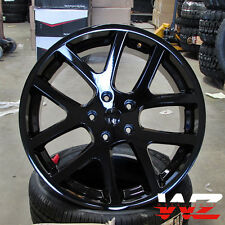"22"" Viper Style Wheels Gloss Black Fits Dodge Ram 1500 5x139.7 Truck Durango"