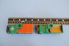 2 Matchbox Battle Kings K-108 Green M3A1 Military Half Track  Diecast c1974