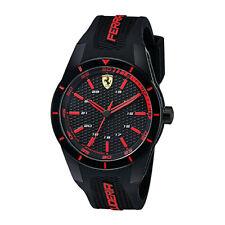 Ferrari Black Mens Analog Casual RedRev 0830245