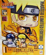 Megahouse Petit Chara Limited Naruto Exhibition Osaka Naruto Sasuke Figure Set