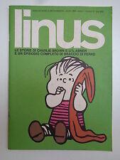 LINUS n° 1 ANNO I APRILE 1965 STATO PIU' CHE OTTIMO