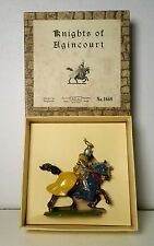 Britains Set #1660 Mounted Knight of Agincourt Charging w/ Sword & Box