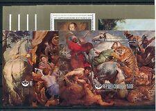 Komoren Block 156/64 postfrisch / Kunst - Gemälde .........................1/774