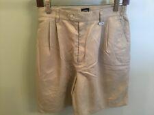 Callaway Golf Apparel Nordstrom Women's Shorts Pleated Tan New 10 Ladies