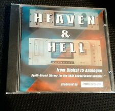 ProXenos - Music Store - Heaven & Hell - Digital to Analogue - AKAI Sampling CD