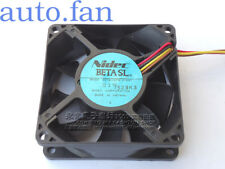 1pc Nidec D07A-12PM fan 12V 0.14A 1.68(W) 3pin 80*80*25mm