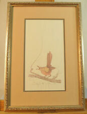 "P Buckley Moss Framed Print Signed & Entitled ""Singing The Joy Of The Soul"" 1997"