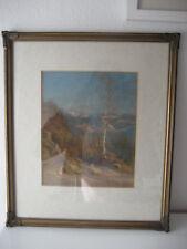 FRANZ PICHLER, 1887 Zell am See - 1937 Salzburg, Pastell, Landschaft