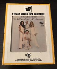 THE SINATRA FAMILY WISH YOU A MERRY CHRISTMAS ~ 8 TRACK STEREO TAPE CARTRIDGE