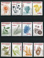 Mosambik MiNr. 828-39 postfrisch MNH Pflanzen (Q10512