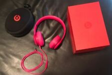 BEATS BY DR. DRE SOLO2 OVER THE EAR HEADPHONES - PINK!
