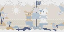 Rasch Borte Favola 303296 Bären Kinderzimmer Kinderborte Bordüre Vliesborte