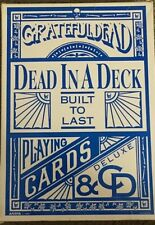 "Grateful Dead ""Dead in a Deck"" Built to Last Deluxe CD and Playing Cards"