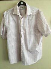 Cotton Short Sleeve Checked NEXT Formal Shirts for Men