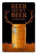 Buck Deer Hunting Metal Sign Man Cave Garage Body Shop Cabin Barn Shed Lodge 3