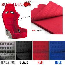 RED BRIDE Seat Cover Fabric Decorate Cloth For RECARO/BRIDE/SPARCO 5mx1.6m