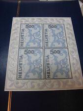 Schweiz, 1726 Kleinbogen, Stickerei, postfrisch aus 2000