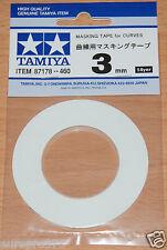 TAMIYA 87178 Nastro adesivo per le curve 3mm larghezza, lunghezza 20m, per RC Carrozzeria Gusci