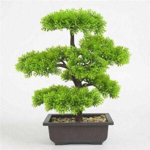 Künstliche Pflanzen Bonsai Baum Topfpflanzen Kunstpflanzen Im Topf Pflanze Dekor