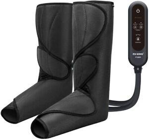 FIT KING Leg Air Massager Circulation & Relaxation Foot Calf Massage Thigh Boots