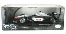 David Coulthard Mclaren MP4-16 F1 2001 Hot Wheels 1/18th Scale Model Car