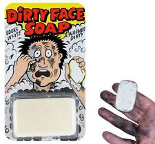 Dirty Black Face Soap Funny Joke Gag Trick Party Prank Prop Gift Stocking Filler