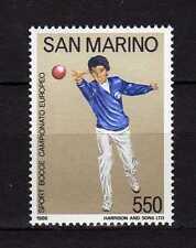 14286) SAN MARINO 1986 MNH** Camp. Europeo Bocce
