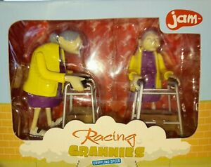 Vintage Toys Racing Grannies Mother's Day  Wind Up Boxed Unopened Manchester UK