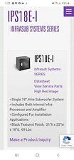 "Pair of Bag End Ips18E-I Infrasub Dual 18"" Subwoofer Sub Speakers high resolutio"