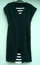 Op Art Style Retro Lycra Dress Sample Size 10/12 - See measurments in Specifics