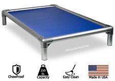 Kuranda All-Aluminum Dog Bed - 40oz Vinyl Fabric - Pacific Blue