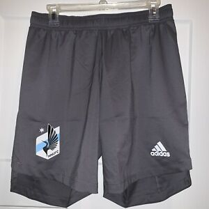 Adidas Minnesota United Football Club Shorts MNUFC MLS Soccer EH6064 $60 Medium