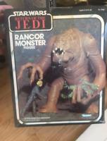 Star wars Action Figures Vintage old Kenner Rancor Monster Figure