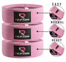Elásticos deportivos bandas de resistencia rosas para fitness